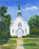 """Coastal Chapel"" by Elizabeth Lines"