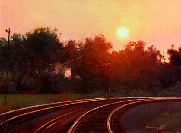 """Kingston Rail"" by Amanda Lovett"