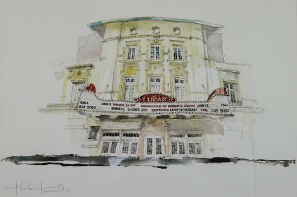 """Lucas Theatre, Savannah"" by Mat Barber Kennedy"