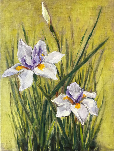 """Irises Now"" by Blair Mann"