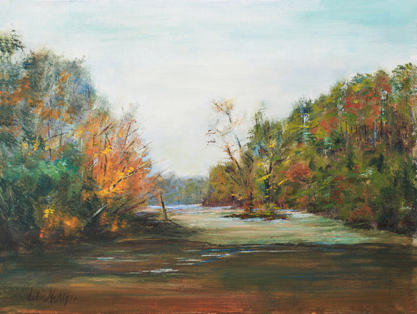"""River Shoals"" by Lila McAlpin"