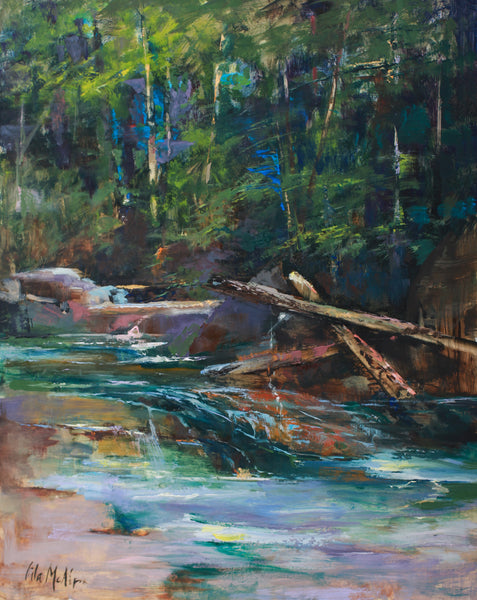 """Mountain Stream"" by Lila McAlpin"