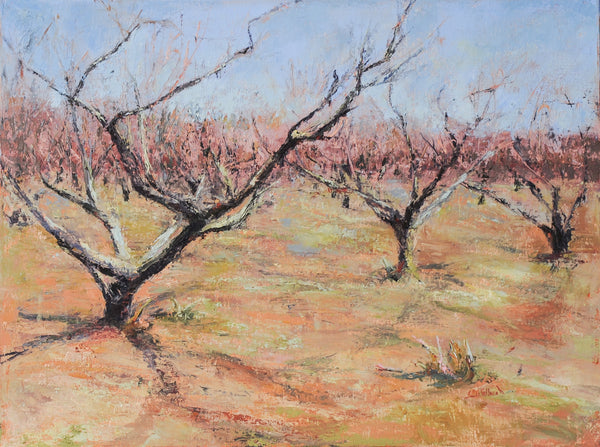 """Peaches in Early Spring""  by Celeste McCollough"