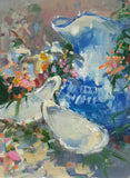 """Creamer, Oysters and Flowers""  by Jonathan McPhillips"