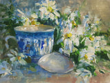 """Tea Cup, Shell and Flowers"" by Jonathan McPhillips"