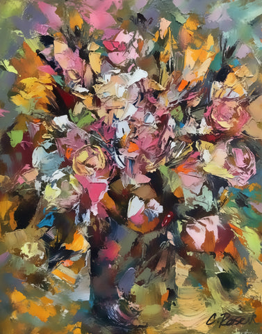 """Amid the Blooming Buds"" by Cynthia Rosen"