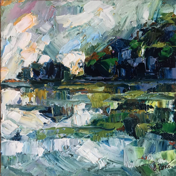 """Coastal Reflections"" by Cynthia Rosen"