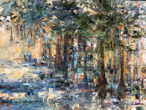 """The Mystical Cypress Swamp"" by Cynthia Rosen"