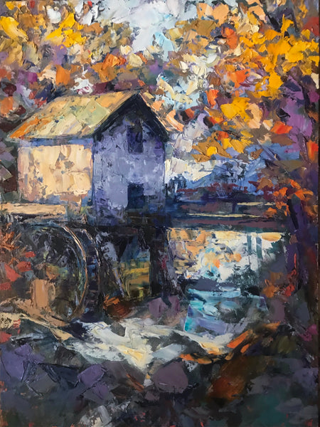 """The Waterwheel"" by Cynthia Rosen"