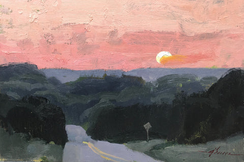 """Sunset Drive"" by Jason Sacran"