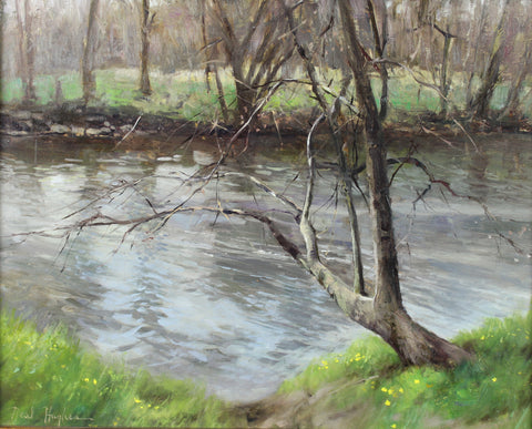 """Spring Creek"" by Neal Hughes"