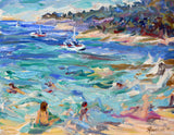"""Summer Day at the Sea""   by Jill Steenhuis"
