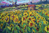 """Sunflowers in Provence"" by Jill Steenhuis"