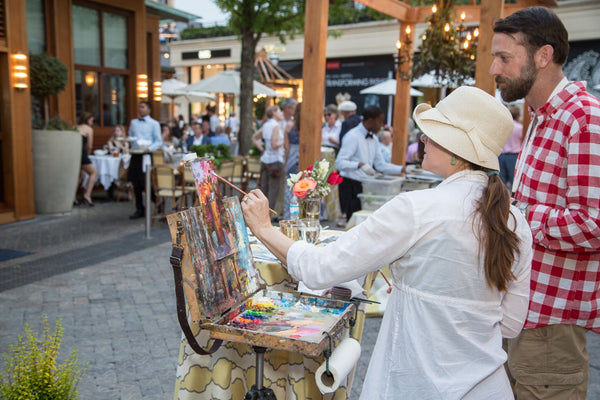 Artists Street Mingle - The Shops Buckhead Atlanta Tuesday April 4, 2017 6-9:00 PM