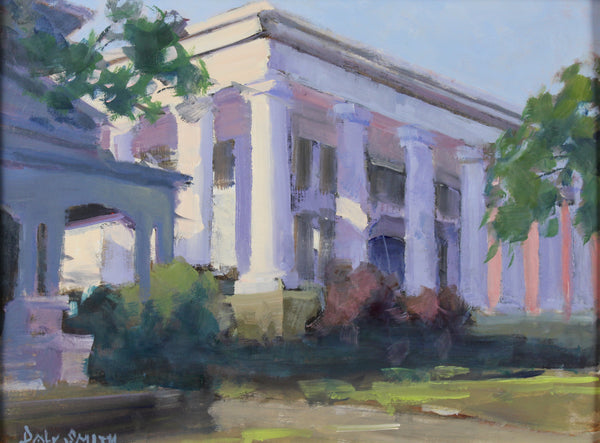 """White Columns at Sunset"" by Daly Smith"