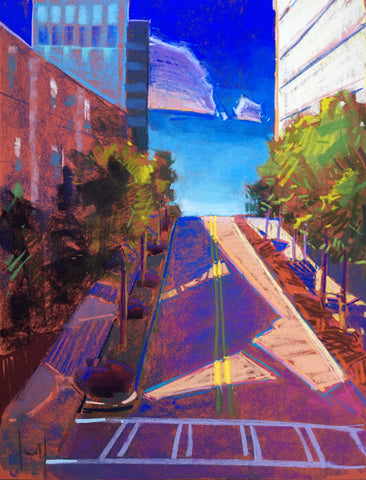 """Buckhead in Blue"" by Tara Will"
