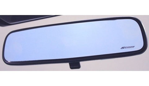 SPOON - BLUE WIDE REAR VIEW MIRROR GLASS