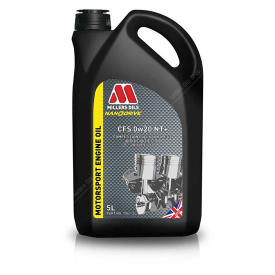 Millers CFS 0w20 NT+ Engine Oil - 5 Litres - TDi North