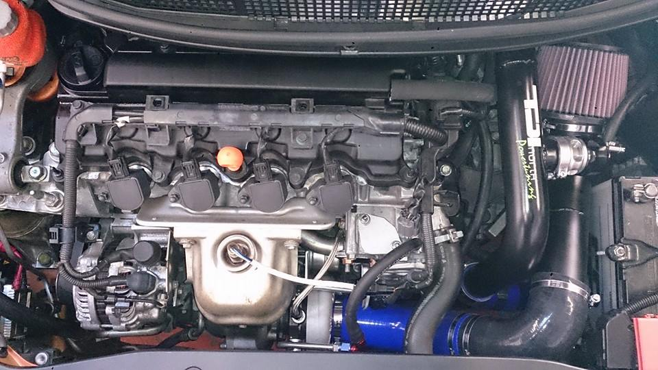 CIVIC TYPE-S R18 - TURBO KIT (SUPPLIED FITTED AND MAPPED