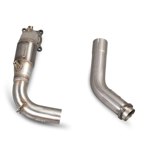 SCORPION TURBO DOWNPIPE WITH 200 CELL SPORT CAT FOR HONDA CIVIC TYPE R FK2
