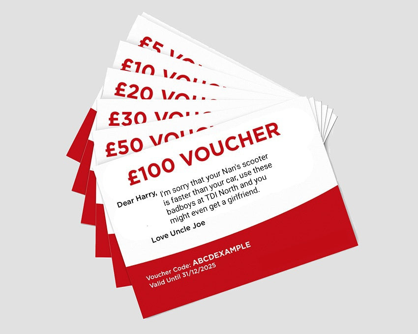 TDi North Gift Voucher