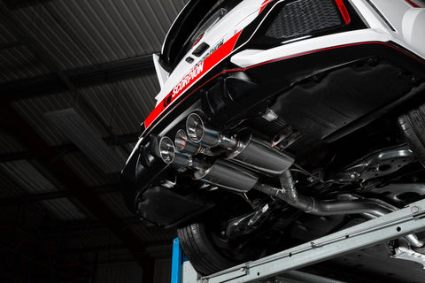 SCORPION EXHAUST SYSTEM CIVIC TYPE-R FK8