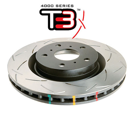 DBA42500S Front Discs - Motorsport 4000 series T3 - Civic Type R EP3