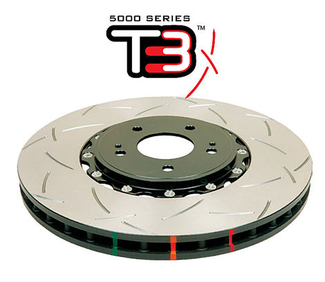 DBA52500BLKS Front Discs - Motorsport 5000 series T3 - Civic Type R EP3 - TDi North