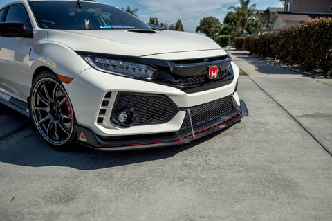 APR PERFORMANCE FRONT WIND SPLITTER FOR FK8 CIVIC TYPE-R - TDi North