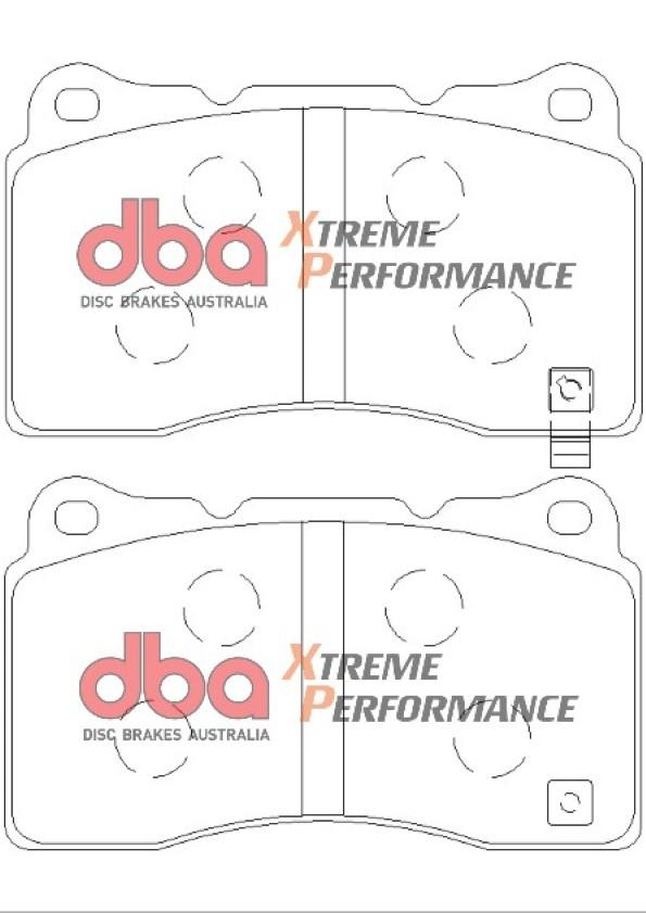 DBA Xtreme Performance Front Brake Pads T3 - Honda Civic Type R FK2/FK8 2.0T
