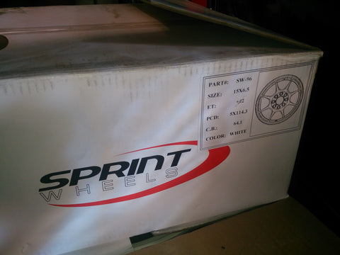 Sprint Wheels - Honda Fitment (New Open boxed) - TDi North