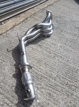 SOLID FABRICATIONS - HONDA CIVIC TYPE R EP3 BIG BORE MANIFOLD