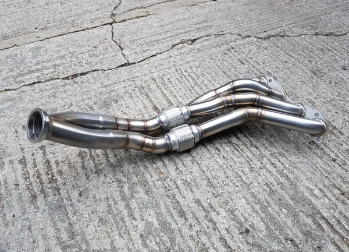 SOLID FABRICATIONS - HONDA CIVIC FD2 TYPE R BIG BORE HEADER