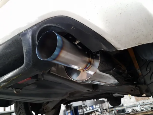 "SOLID FABRICATIONS - HONDA CIVIC TYPE R FD2 3"" CAT BACK EXHAUST"