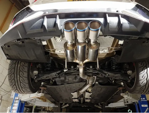 SOLID FABRICATIONS - HONDA CIVIC TYPE R FK8 3 INCH EXHAUST