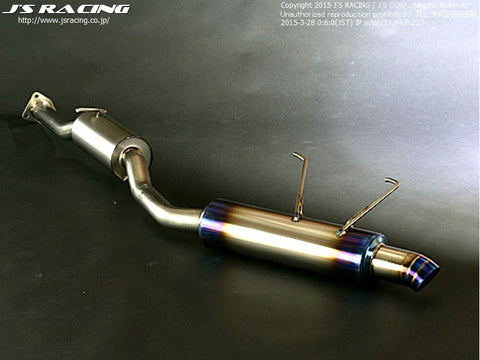 J'S RACING FX-PRO FULL TITANIUM EXHAUST 70RS S2000 - TDi North