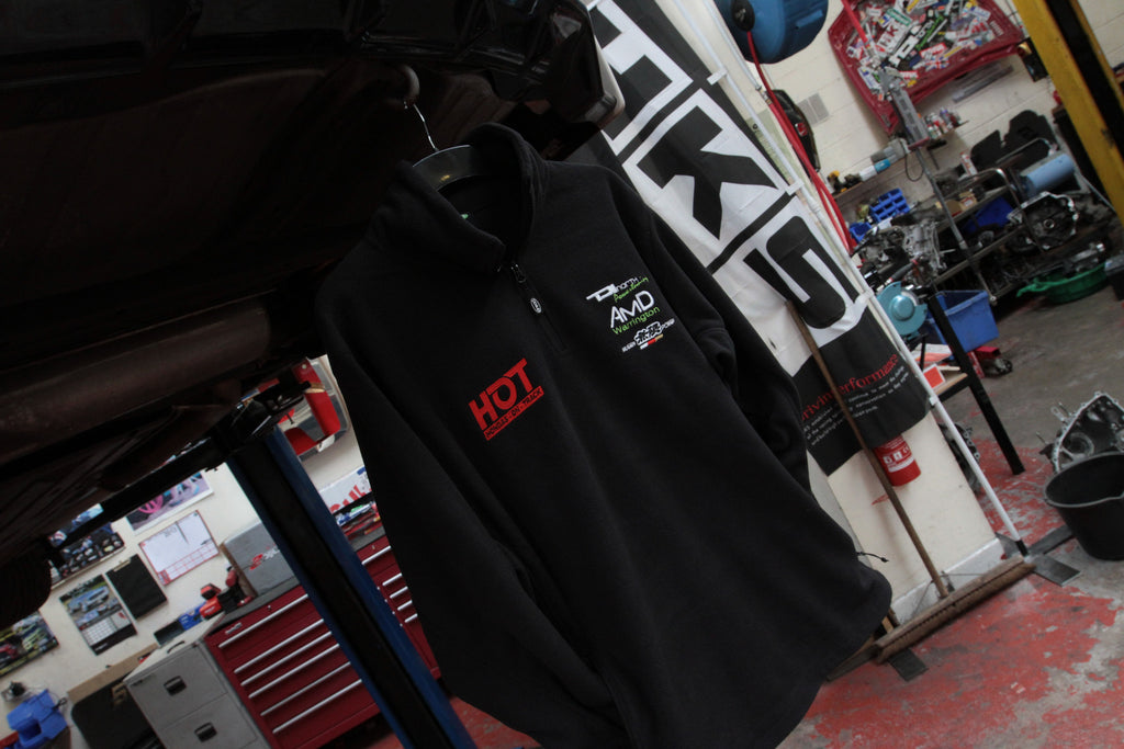 HONDAS ON TRACK 1/4 ZIP FLEECE - TDi North