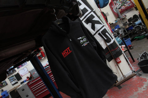 HONDAS ON TRACK 1/4 ZIP FLEECE
