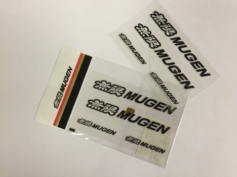 MUGEN EMBLEM STICKER LARGE - TDi North