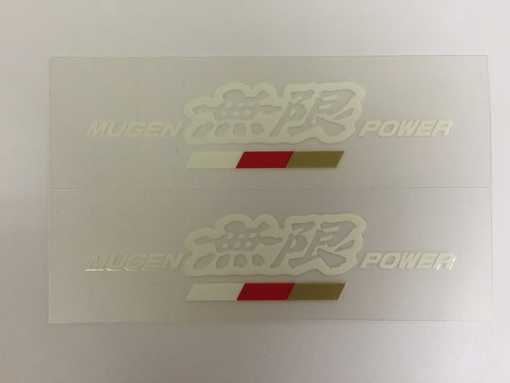 MUGEN POWER STICKER A - TDi North