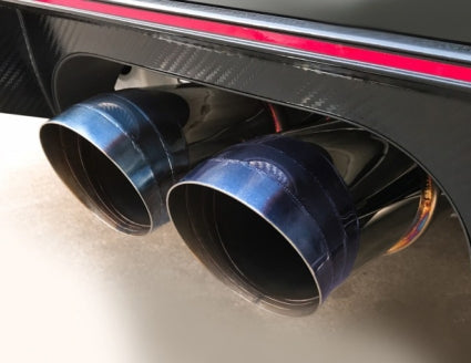 J'S RACING FK8 FX-PRO FULL TITANIUM EXHAUST DUAL 70RS - TDi North