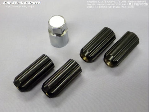 J's Racing Aluminium Locking wheel nuts