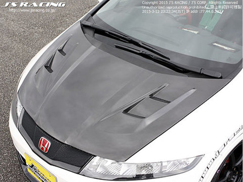 J's Racing Carbon Type V bonnet (FN2)