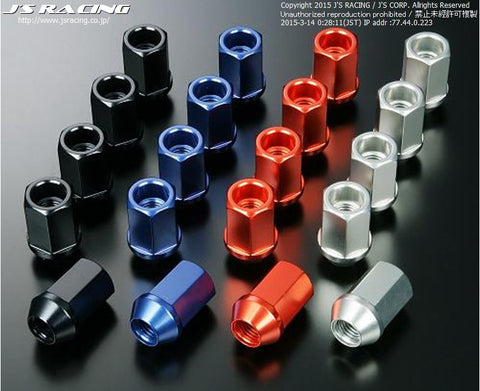 J's Racing Aluminium Wheel Nuts