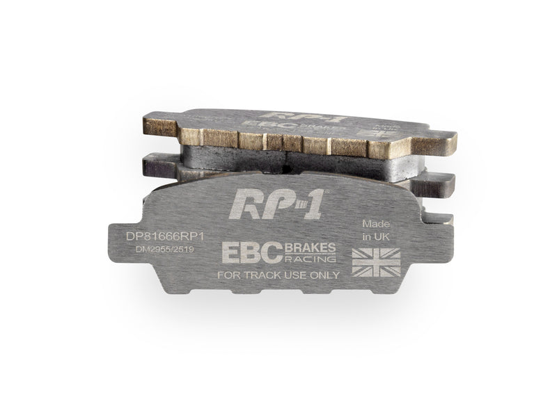 EBC Racing RP-1™ Track And Race Brake Pads To Fit Front - EP3 - TDi North