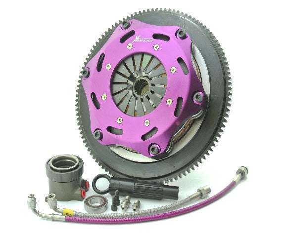 KHN18629-2E | XTREME PERFORMANCE - 184MM RIGID CERAMIC TWIN PLATE CLUTCH KIT INCL FLYWHEEL & CSC - TDi North