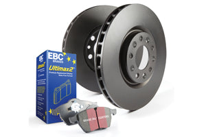 EBC BRAKES PAD AND DISC FULL VEHICLE KIT - MAZDA 3 MPS
