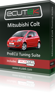 ECUTEK VEHICLE TUNING MITSUBISHI COLT