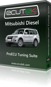 ECUTEK VEHICLE TUNING MITSUBUSHI CAN DIESEL'S - TDi North