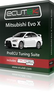 ECUTEK VEHICLE TUNING MITSUBISHI EVO X - TDi North